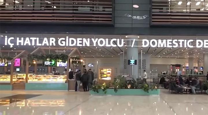 İstanbul Havalimanı'nda bir yolcu doğum yaptı