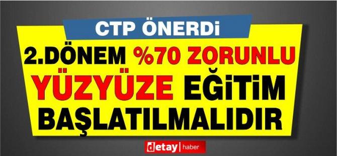 CTP'den üniversiteler için öneri