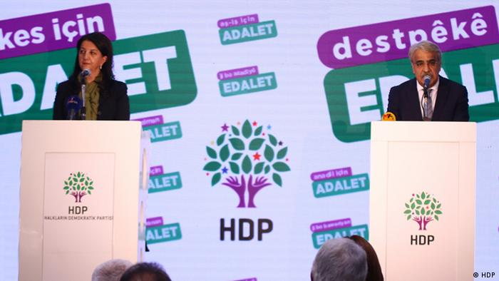 """HDP """"Herkes için Adalet"""" kampanyası başlattı"""