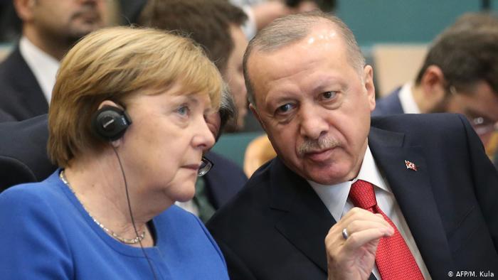 Merkel ile Erdoğan görüştü