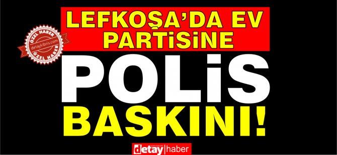 Lefkoşa'da ev partisinde 13 tutuklu!