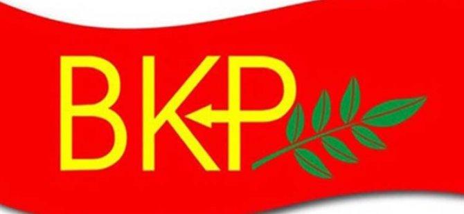 BKP, Kıbrıs Türk Tarafının Federal Çözüm Yönünde İrade Göstermesi Gerektiğini Savundu