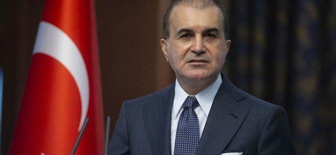 AKP Sözcüsü Çelik: Artık iki eşit devlete dayanan müzakere modeli masaya gelmeli