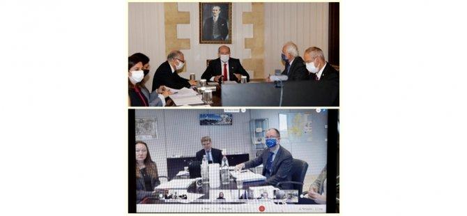 Cumhurbaşkanı Tatar,  Mario Nava ile görüştü