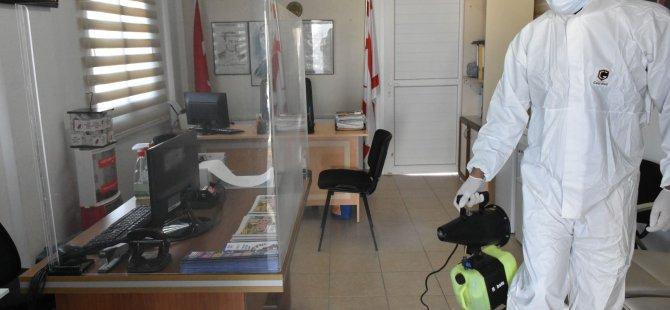 Girne Belediyesi İlaçlama Çalışmalarına Devam Ediyor
