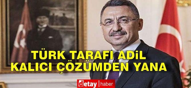 Oktay: Türk tarafı adil, kalıcı çözümden yana