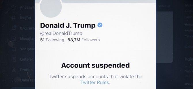 Twitter, tekrar başkan seçilse bile Trump'ın hesabının açılmayacağını bildirdi