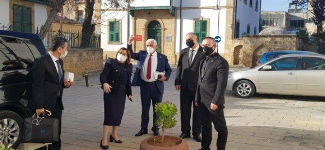 Türkiye Belediyeler Birliği Heyeti Belediyeler Birliği'ni ziyaret etti