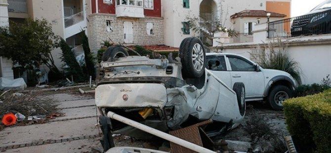 İzmir'de Hortumun Verdiği Hasar Gün Aydınlanınca Ortaya Çıktı