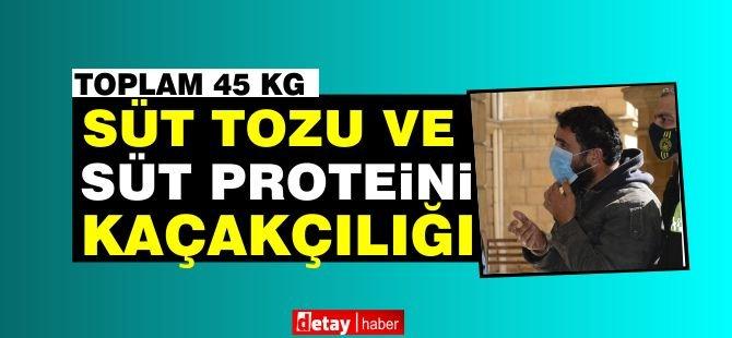 Kaçak süt tozu ve süt proteini yakalandı!