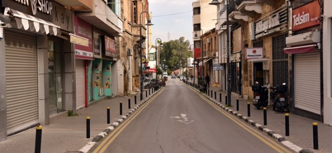 Sokaklarda kısıtlama sessizliği hakim