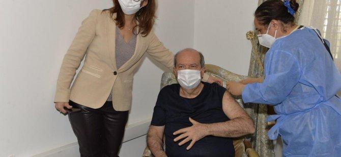 Tatar 2. doz aşısını yaptırdı