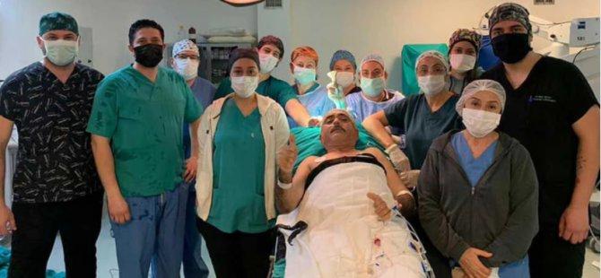 Dr. Burhan Nalbantoğlu Hastanesinde bir ilk: 'Uyanık anestezi' yöntemiyle beyin ameliyatı