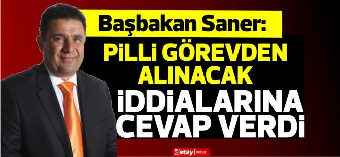 Ali Pilli görevden alınacak iddialarına Saner'den yanıt!