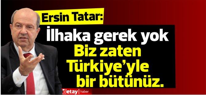 """Tatar:""""Antalya neyse, biz oyuz"""""""