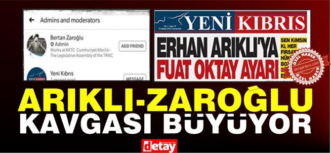 YDP'de tartışma büyüyor... O Sayfanın yöneticisi Zaroğlu çıktı...