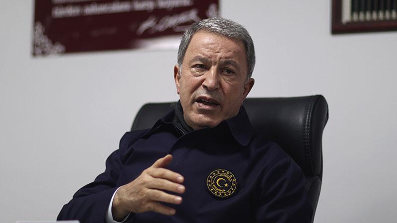 Millî Savunma Bakanı Akar: Gara'da 13 vatandaşımızın naaşına ulaşıldı