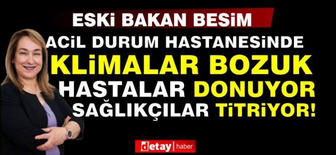 Eski Sağlık Bakanı Besim isyan etti