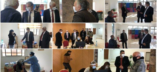 Το Πολιτιστικό Κέντρο Güzelyurt Atatürk γίνεται κέντρο εμβολιασμού