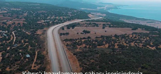 Adil Karaismailoğlu'ndan KKTC Karayolu Master Planı paylaşımı (video)