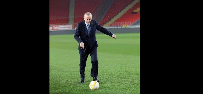 """Erdoğan, """"Gollere devam"""" dedi; İmamoğlu'ndan da paylaşım geldi"""