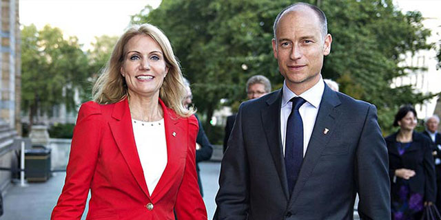 Danimarka Başbakanı'nın eşi İngiltere'de meclise girdi