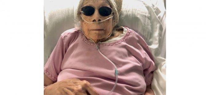 105 yaşında Covid-19 atlattı: Sırrı her gün cine yatırılmış dokuz kuru üzüm yemek