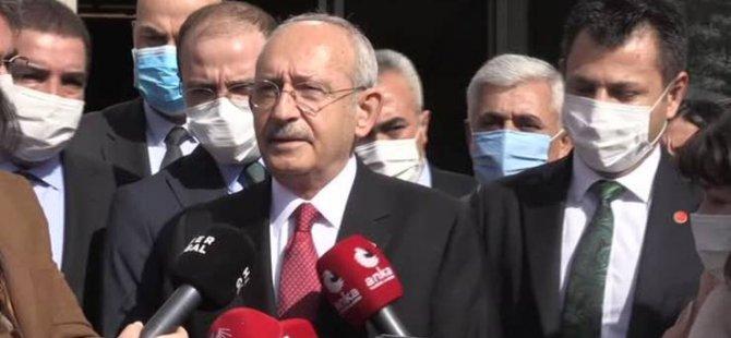 Kılıçdaroğlu: Erdoğan, 'Koltuk benim olsun memleket mahvolsun' diyor