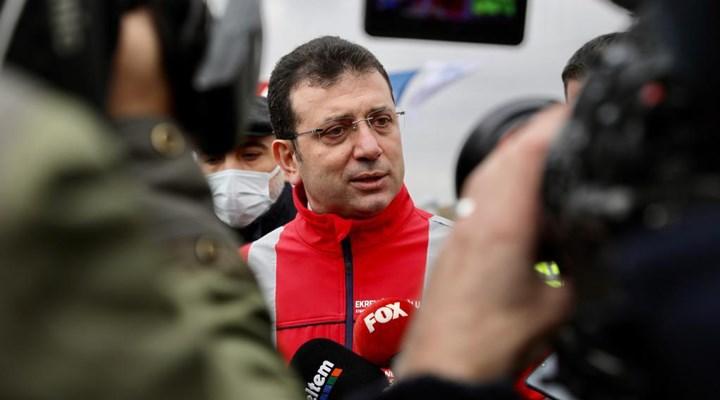 İmamoğlu'ndan, 'Kanal İstanbul'u inadına yapacağız' diyen Erdoğan'a yanıt