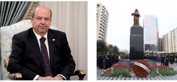 Cumhurbaşkanı Ersin Tatar'dan Hocalı Katliamı mesajı