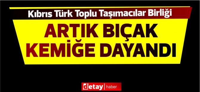 Kıbrıs Türk Toplu Taşımacılar Birliğinden Eylem Kararı…