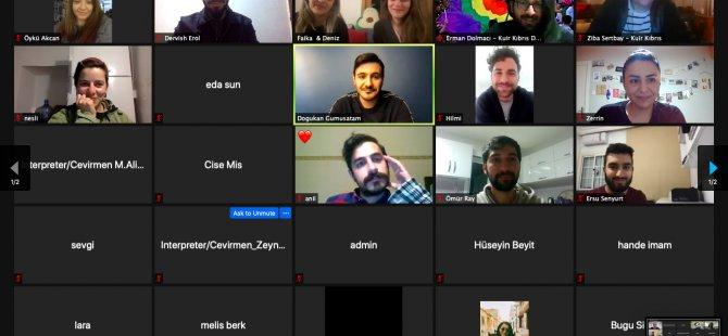 Kuir Kıbrıs Derneği, `LGBTi+ Mülteciler ile ilgili eğitimini 'çevrimiçi' olarak Gerçekleştirdi
