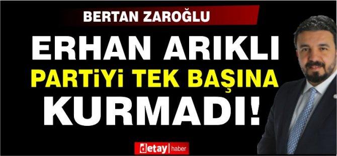 """Zaroğlu:Bölünme İle YDP Kelimelerini Yan Yana Koyanlar, Partinin Bölünmesinin Temelini Atıiyorlar"""""""