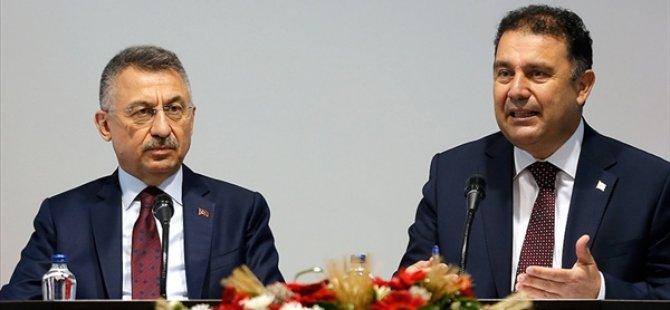 Başbakan Saner Fuat Oktay'la Görüşüyor