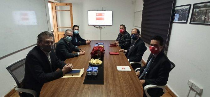 DİSİ, Halkın Partisi'ni Ziyaret Etti