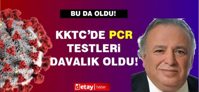 KKTC'de PCR testleri davalık oldu!