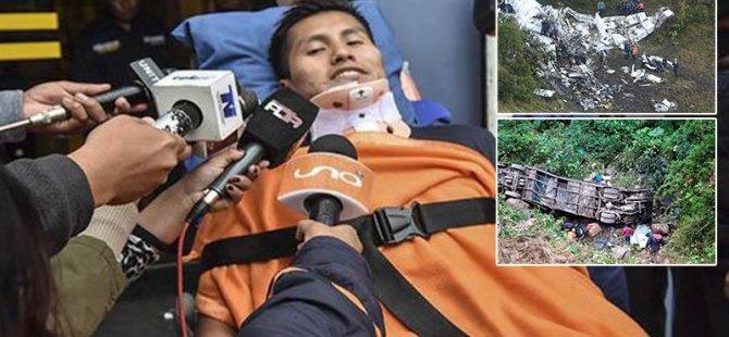 Uçak kazasında kurtulmuştu; 21 kişinin hayatını kaybettiği otobüs kazasından da sağ çıkarıldı