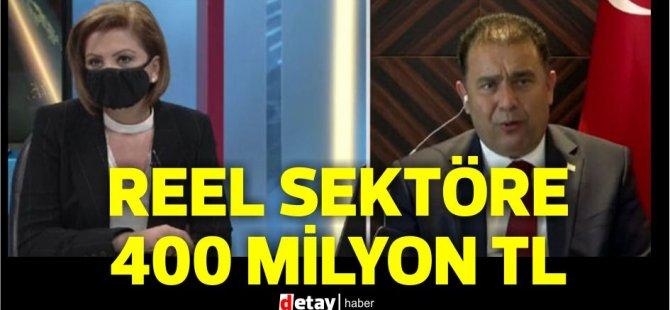Başbakan Ersan Saner:400 milyon TL kaynak paketi ile reel sektörü destekleme kararı aldık