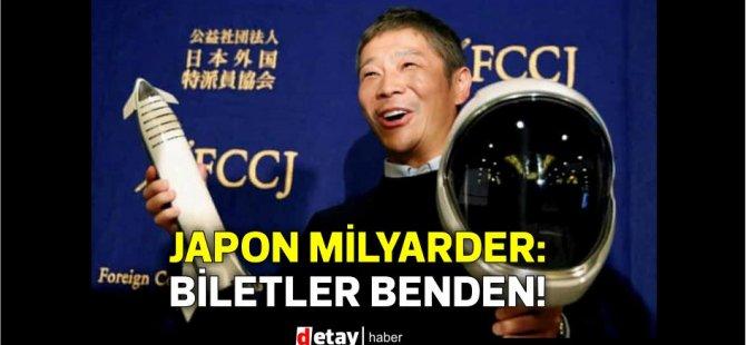 Japon milyarder, Ay yolculuğuna dünyanın her yerinden sekiz kişi davet ediyor: Biletler benden!