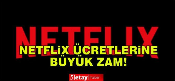 Netflix ücretlerine dev zam!