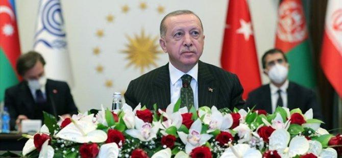 """Erdoğan'dan """"KKTC İle İlişkilerinizi Geliştirin"""" Çağrısı"""