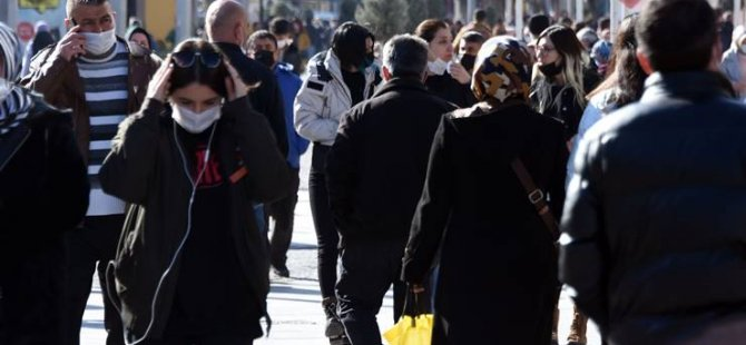 Türkiye'de 55 bin 802 kişinin testi pozitif