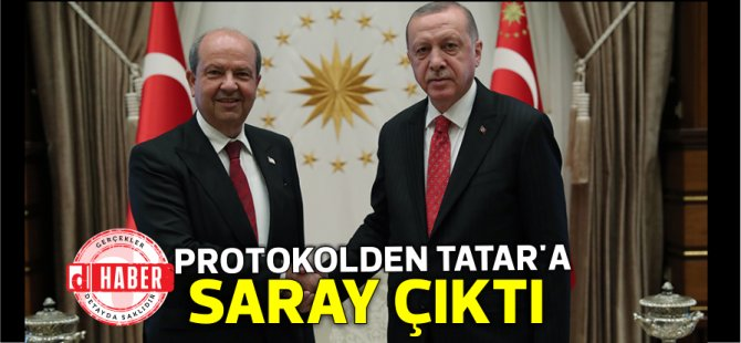 TC-KKTC protokolünden Tatar'a Saray çıktı