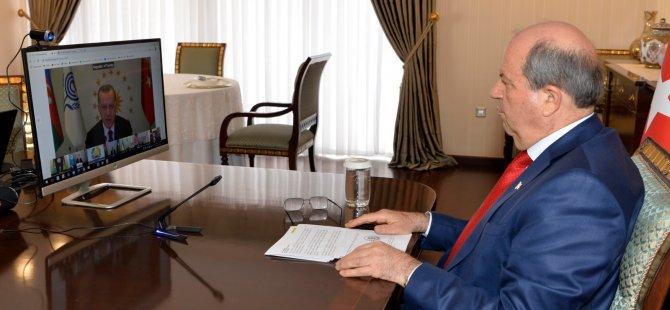 Cumhurbaşkanı Tatar Ekonomik İşbirliği Teşkilatı Liderler Zirvesi'ne Katıldı