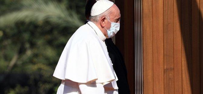 Irak'ı Ziyaret Eden Papa, Şiilerin En Büyük Dini Mercisi Sistani İle Bir Araya Geldi