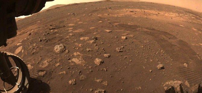 Perseverance keşif aracı Mars'ta ilk sürüşünü gerçekleştirdi
