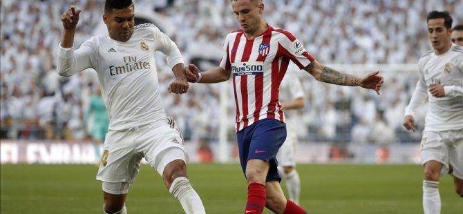 La Liga'da Madrid derbisi yarın oynanacak