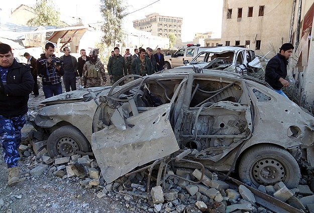 Irak'ta bombalı saldırılar