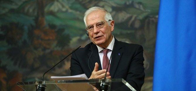 Borrell: Avrupa Birliği, Kıbrıs Çözüm Sürecinin BM Himayesi Altında En Kısa Sürede Yeniden Başlamasını Destekliyor