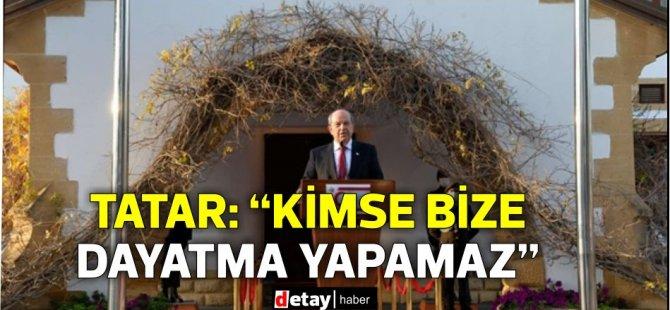 """Tatar-Lute görüşmesi tamamlandı… Tatar: """"Kimse bize dayatma yapamaz"""""""